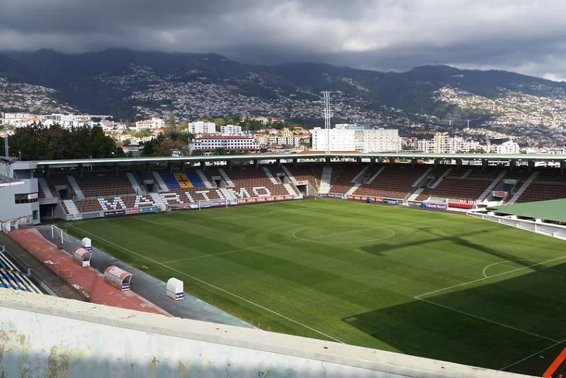 Estádio dos Barreiros, no Funchal