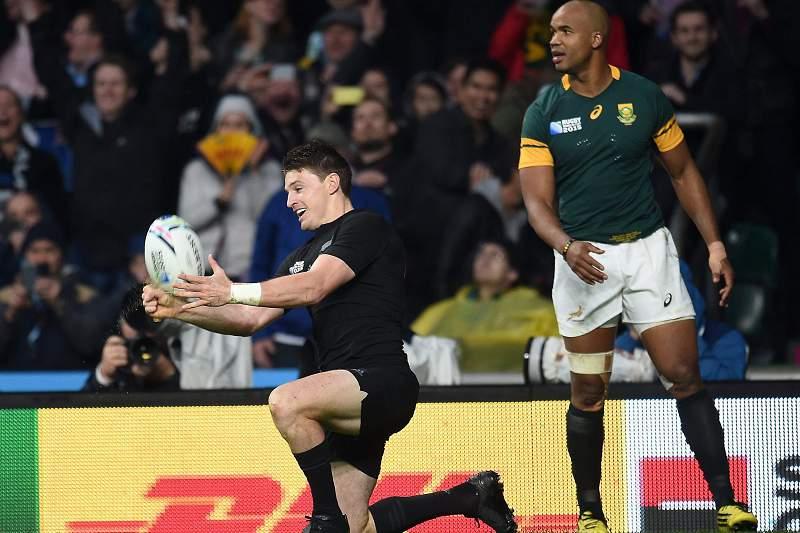 Nova Zelândia elimina Áffrica do Sul no Mundial de Râguebi