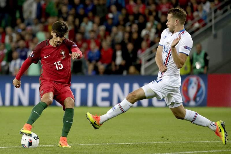 Portugal - Islândia: André Gomes
