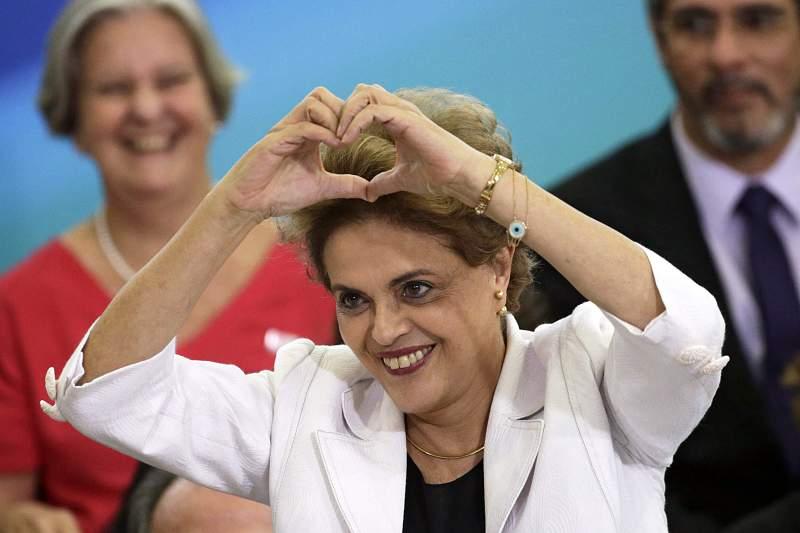 Dilma Rouseff, presidente do Brasil