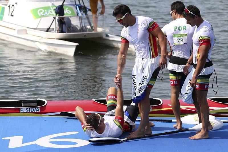 Rio 2016: Final da prova de canoagem K4 1000m
