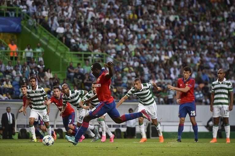 Seydou Doumbia marcou um golo em Alvalade na derrota por 2-1 do CSKA Moscovo em 2015