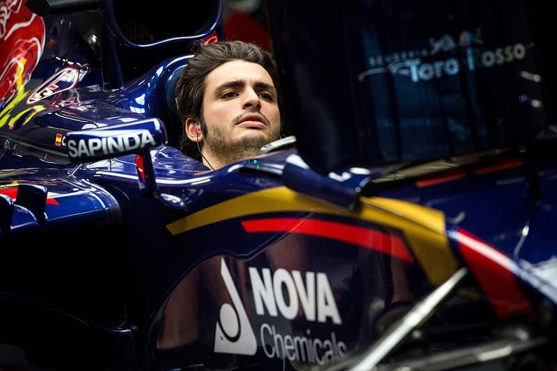 Carlos Sainz Jr. da Toro Rosso Renault