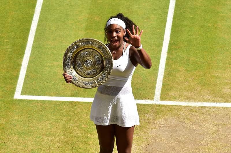 Serena Williams fez história em Wimbledon