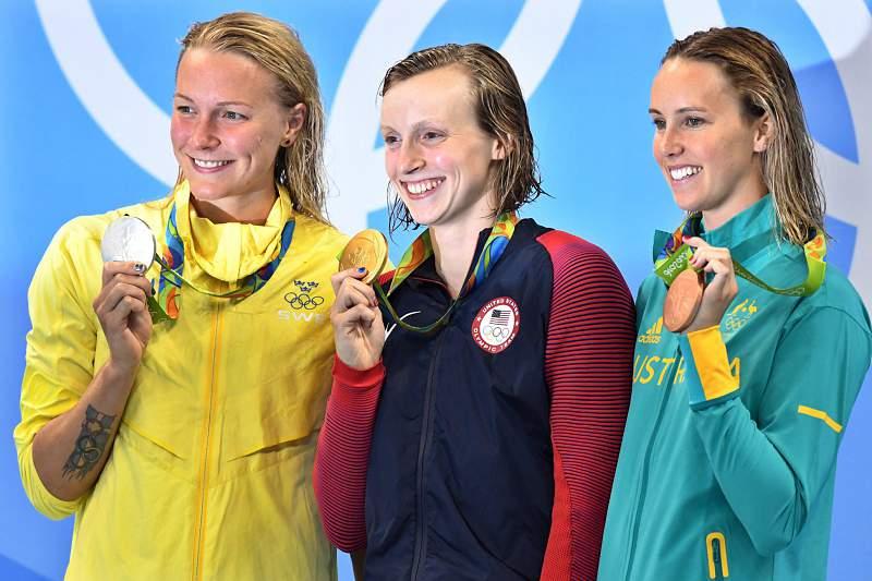 Segundo ouro para Katie Ledecky, agora nos 200 metros livres
