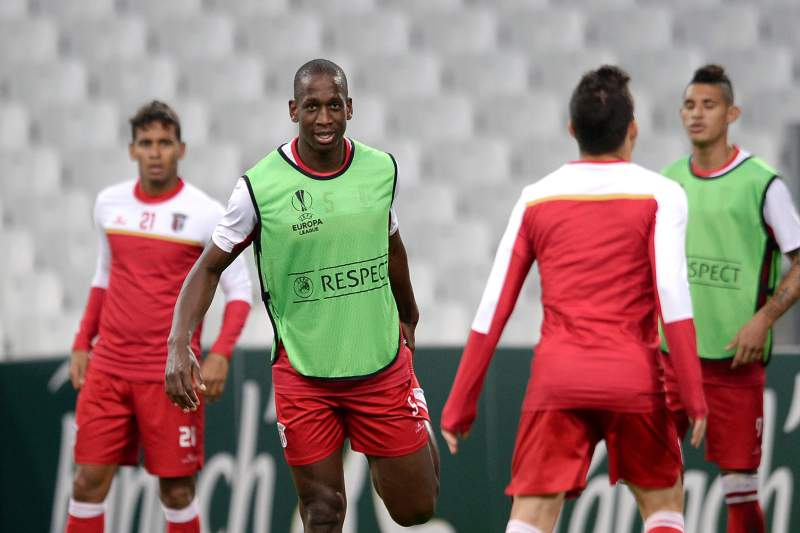 Treino do Sporting de Braga