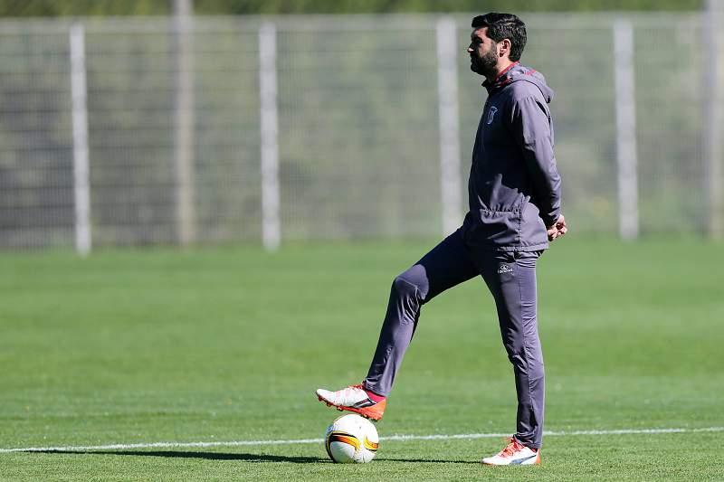 SC Braga training session