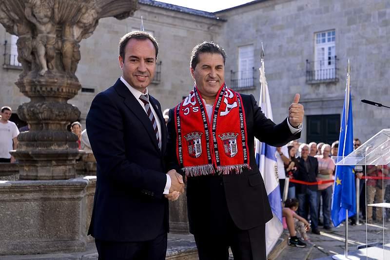 António Salvador e José Peseiro