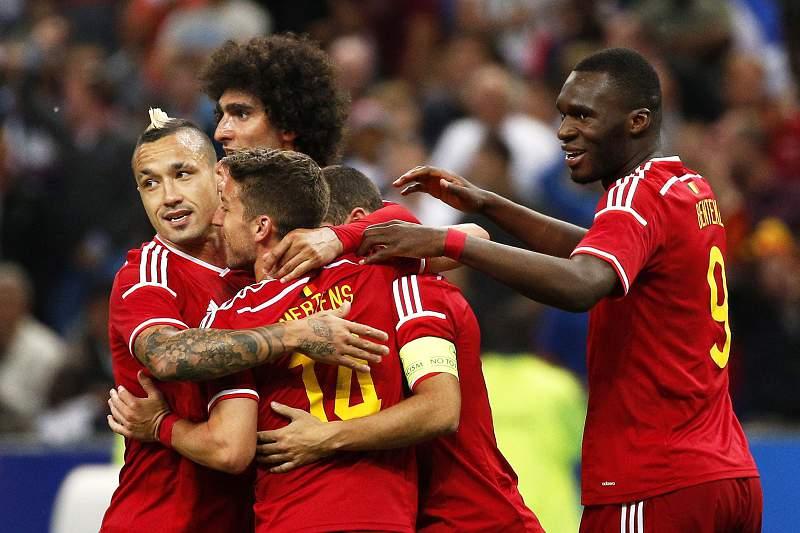 Bélgica vence França no Stade de France
