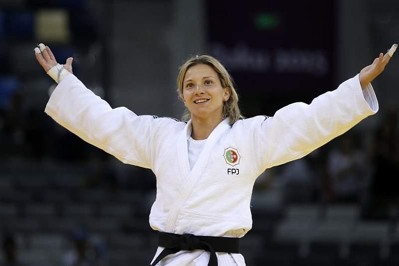 Telma Monteiro nos quartos-de-final dos Mundiais de Astana