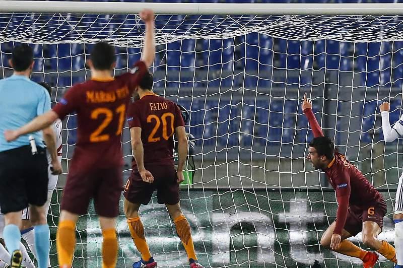 Liga Europa: AS Roma - Lyon