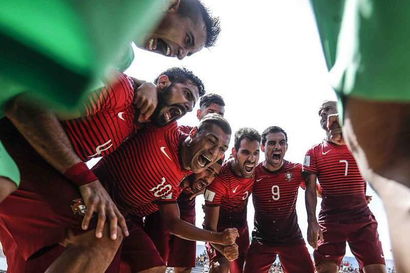 Madjer e Portugal arrebatam a maioria dos trof