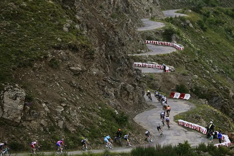 A etapa de Alpe d'Huez é uma das mais famosas da Volta a França