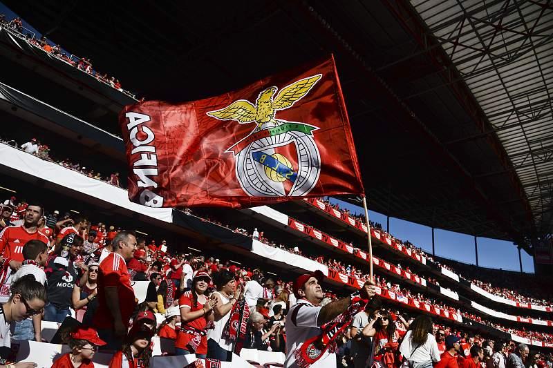 Adeptos do Benfica