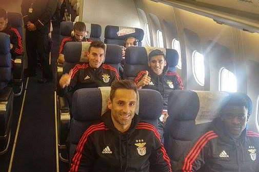 Benfica parte com otimismo para a Rússia