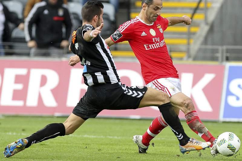 João Aurélio em ação pelo Nacional da Madeira frente ao Benfica