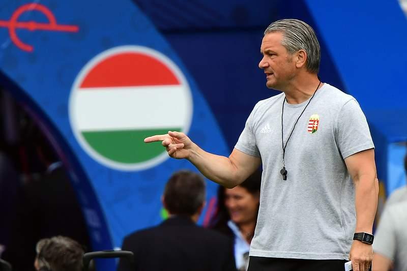 Bernd Storck dá indicações durante o Euro2016 em França