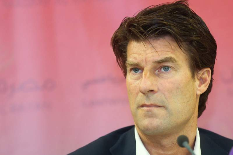 Lekhwiya's Newly appointed soccer head coach Michael Laudrup