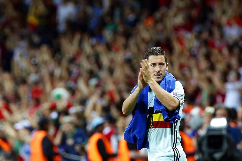 Hazard marcou um golo na vitória sobre a Hungria