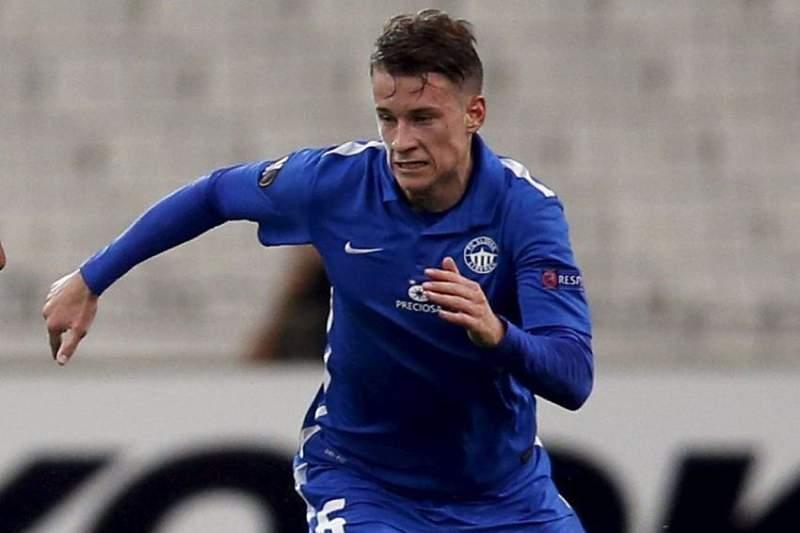 Jan Sykora marcou o golo mais rápido da Liga Europa no empate entre Slovan Liberec e Qarabag