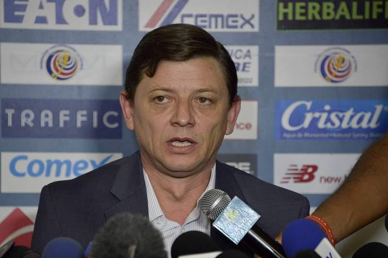 O presidente da Federação de futebol da Costa Rica Eduardo Li