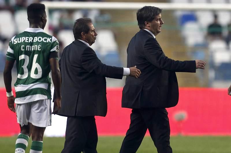 Octávio Machado e Bruno de Carvalho