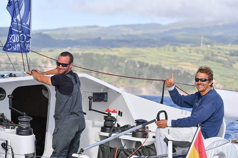 Velejadores espanhóis vencem 1.ª etapa da regata Les Sables/Horta/Les Sables