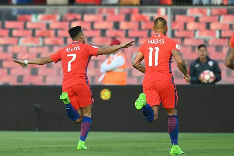 Alexis Sanchéz marcou na vitória do Chile sobre a Venezuela