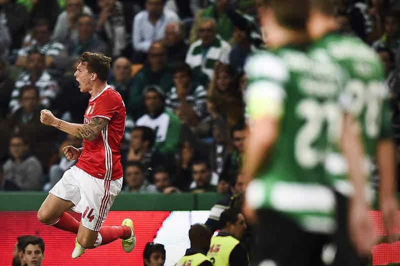 Victor Lindelof marcou o golo do empate em Alvalade