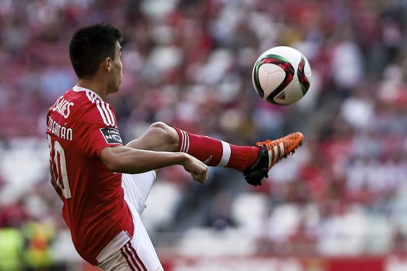 Benfica - Boavista: Gaitán e Tengarrinha
