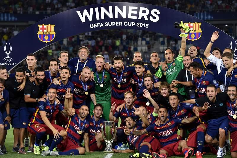 Barcelona Supertaça europeia 2015