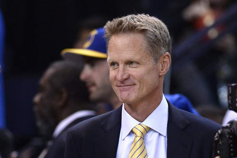Steve Kerr, treinador dos Golden State Warriors