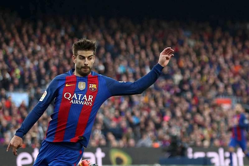 Pique, jogador do Barcelona