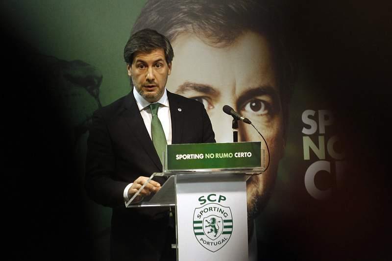 Apresentação da candidatura aos órgãos sociais do Sporting liderada por Bruno de Carvalho