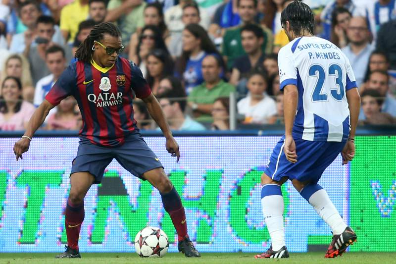 Edgar Davids representou clubes como Barcelona, Juventus ou Ajax