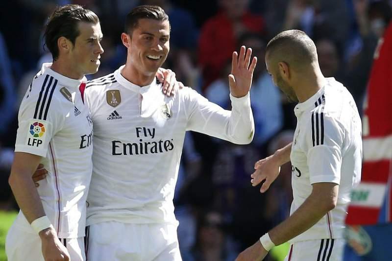 Ronaldo volta a fazer um hat-trick na Liga Espanhola