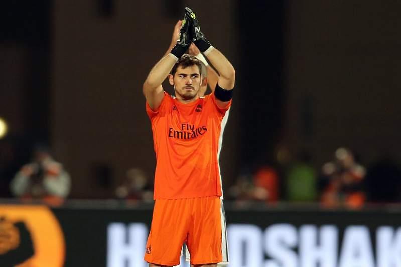 Iker Casillas, jogador do Real Madrid