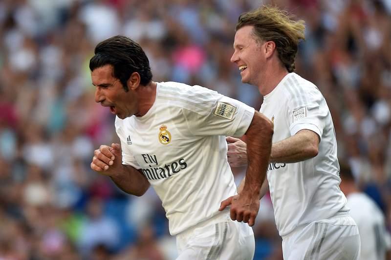 Figo voltou a brilhar no Bernabéu