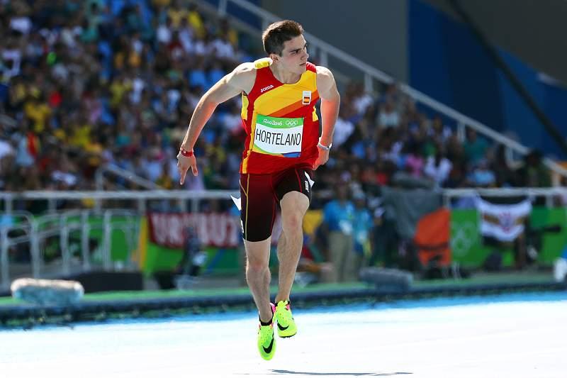 Bruno Hortelano em ação nos Jogos Olímpicos no Rio de Janeiro