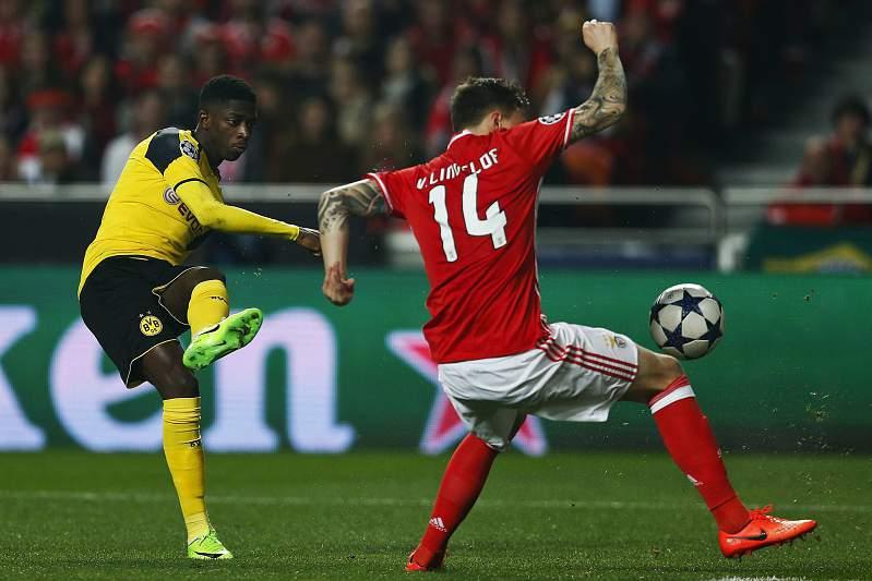 Benfica-Dortmund: Dembélé e Lindelof
