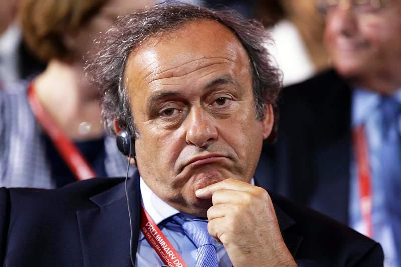 Platini também está implicado no escândalo de corrupção da FIFA