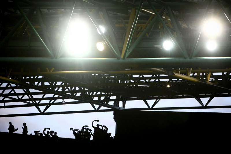 Estádio de Alvalade durante um jogo da Liga Europa