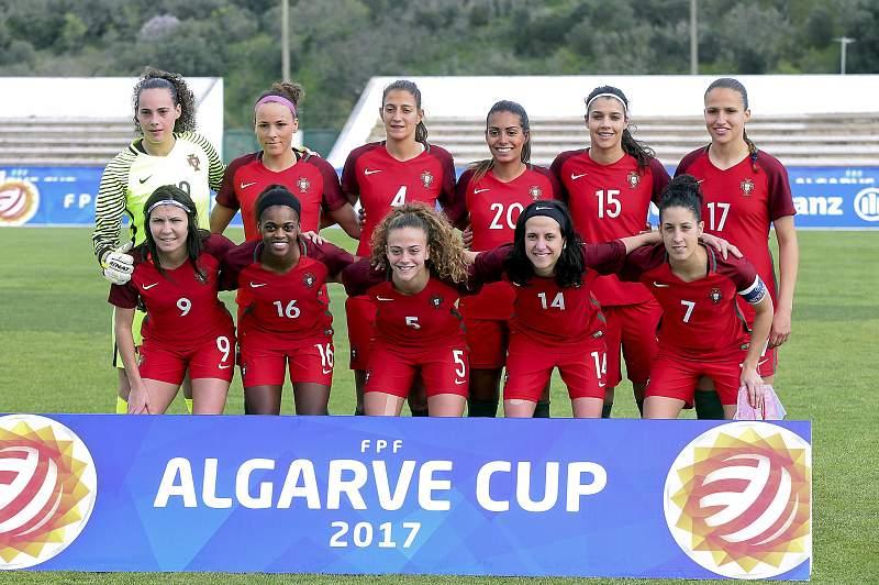 Portugal Women Soccer Algarve Cup: Portugal vs Russia