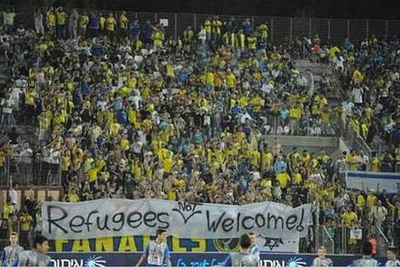Adeptos do Maccabi dizem que os refugiados não são bem vindos