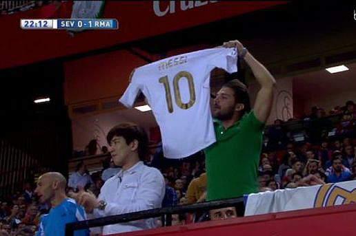 Camisola Messi Real Madrid