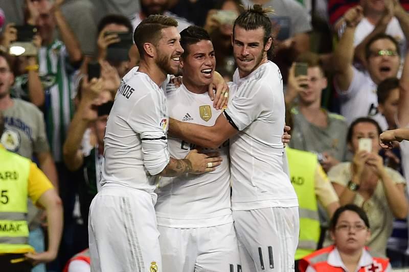 Ramos, James e Bale