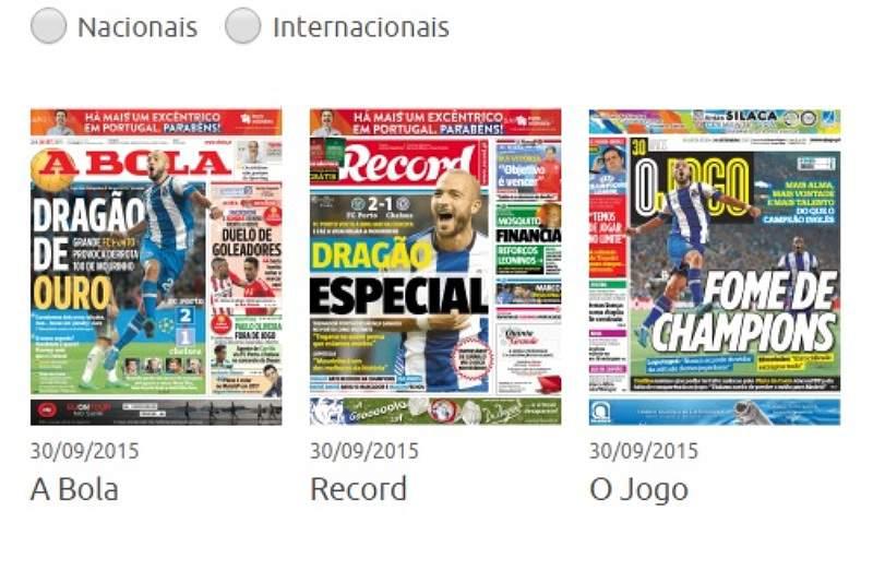 Revista de Imprensa de 30/09