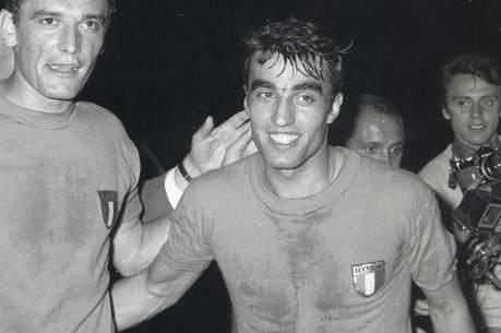 Pietro Anastasi marcou um dos golos da vitória da Itália sobre a Jugoslávia na finalíssima do Euro68