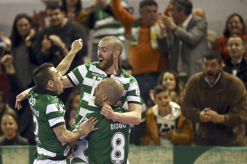 Sporting conquista Taça da Liga frente ao Fundão