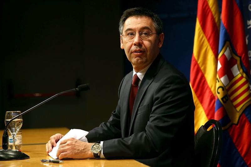 FC Barcelon Press Conference